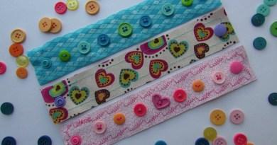 Easy DIY Fabric Bracelets