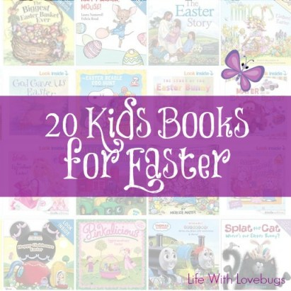 20 Kids Books for Easter