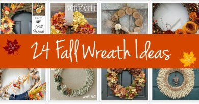 24 Fall Wreath Ideas