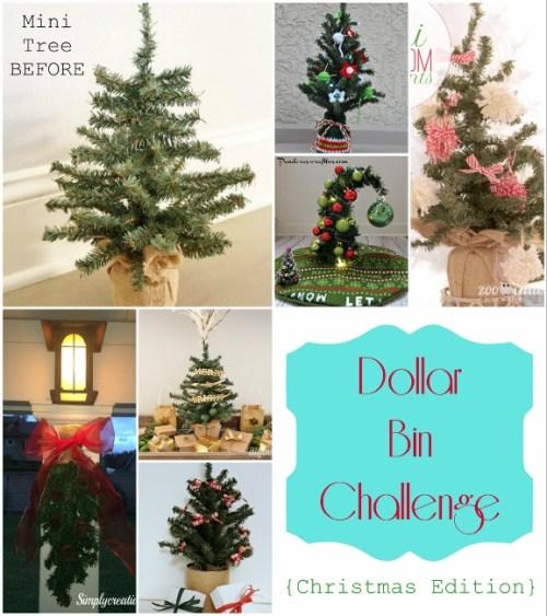 December Dollar Bin Challenge