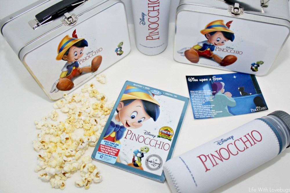 Disney Classic Pinocchio - Now Available in Digital HD!