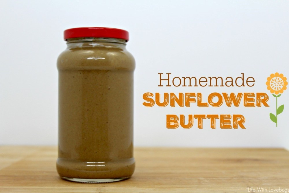 Homemade Sun Butter Recipe