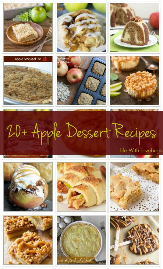 20+ Apple Dessert Recipes