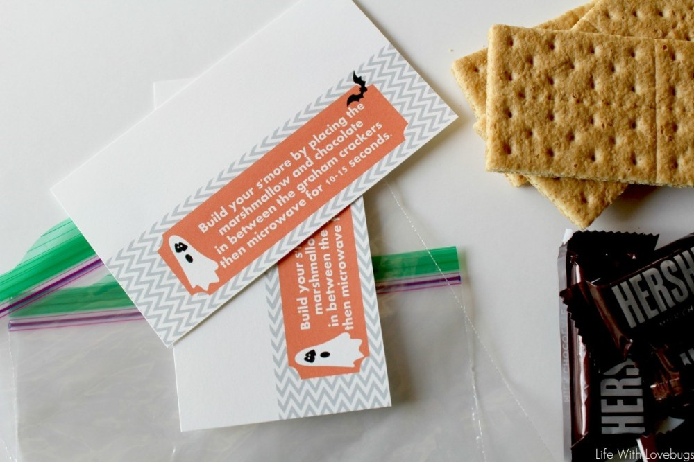 DIY Halloween S'Mores Kits