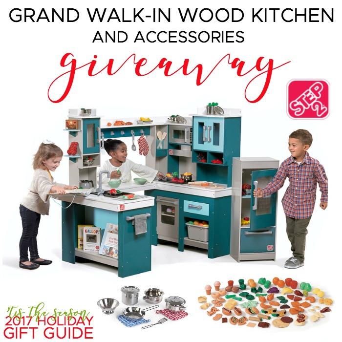 Step2 Grand Walk-In Wood Kitchen + Accessories Giveaway
