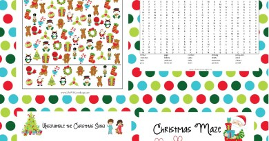 Christmas Activity and Coloring Pages