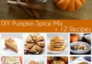 DIY Pumpkin Spice Mix + 12 Recipes