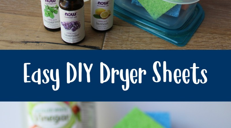 Natural Cleaning: Easy DIY Dryer Sheets