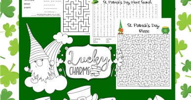 St. Patrick's Day Activity and Coloring Pages for Kids