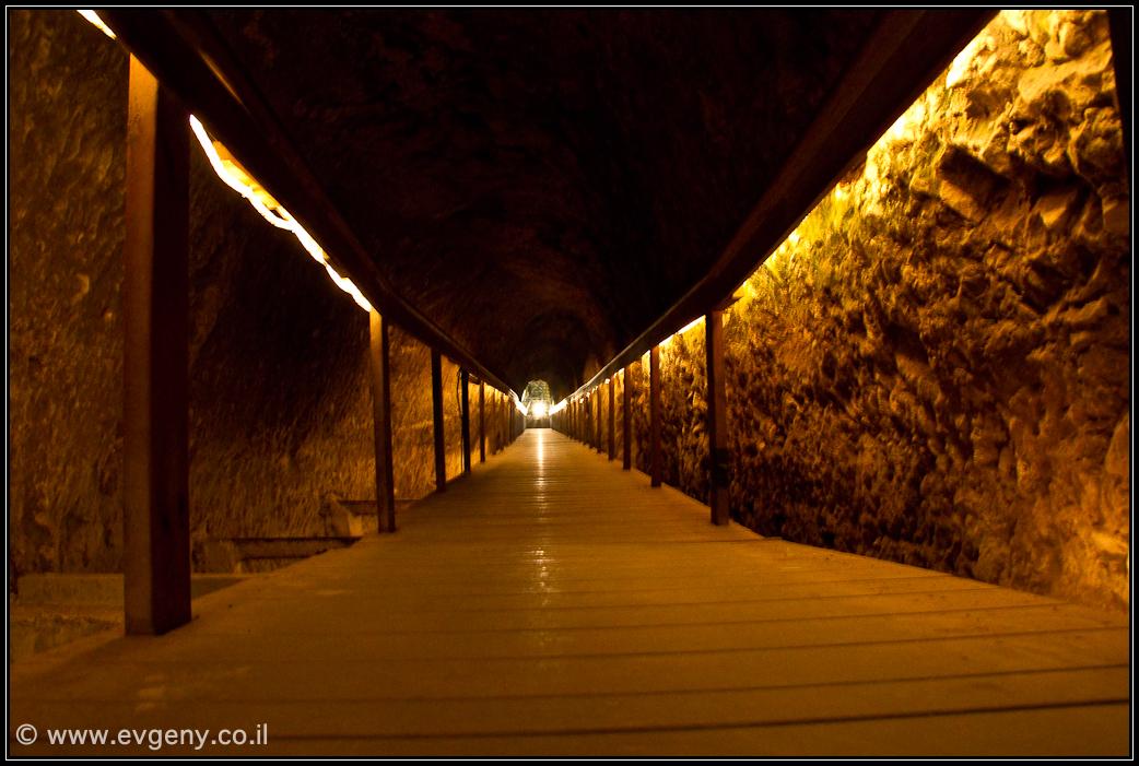 Подземный туннель Мегиддо
