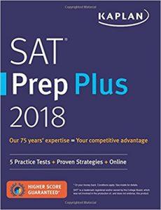 Kaplan SAT Prep Plus 2018 (Best SAT Prep Books)