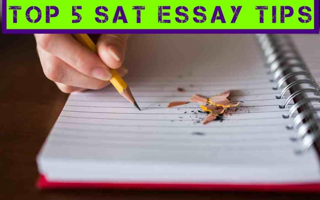 Top 5 SAT Essay Tips