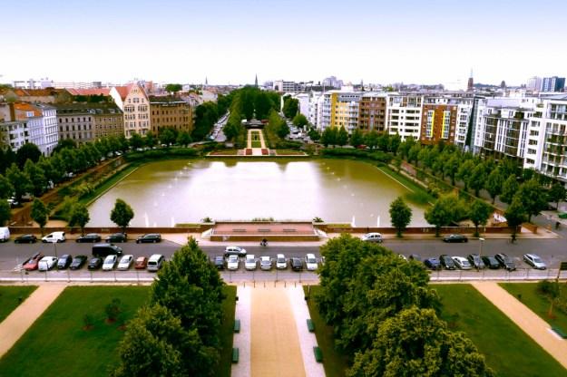 Das Engelbecken und der Luisenstädtische Kanal