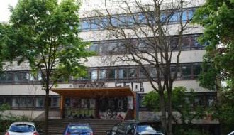 Ruine der Schule Adalbertstraße 2015