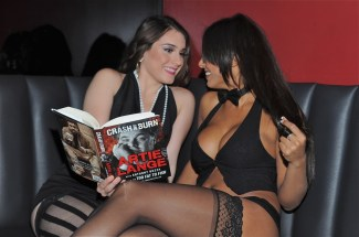 Rick's Cabaret Girls read Artie Lange book