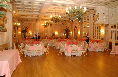 the Fanklin Plaza Ballroom