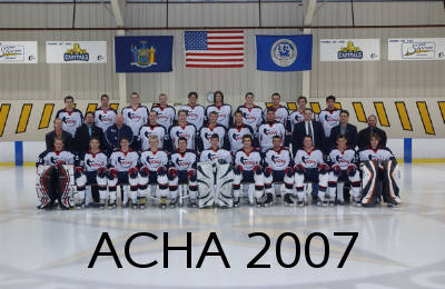 ACHA team photo