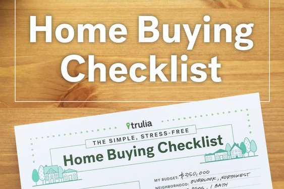 Buying Home Checklist