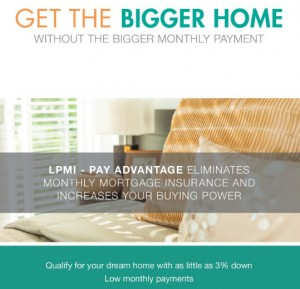 how much house can I afford lender paid mortgage insurance lpmi