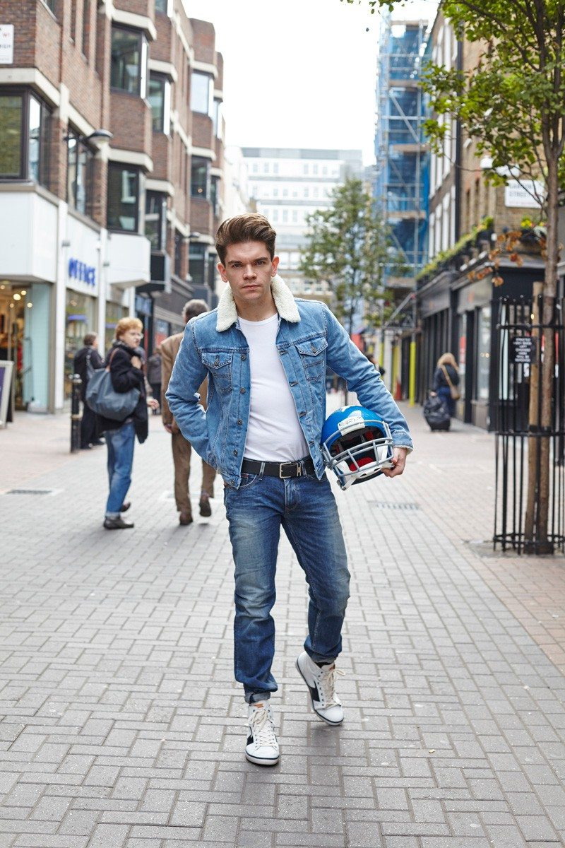 ASOS X Tommy Hilfiger Double Denim | Robin James | Man For Himself