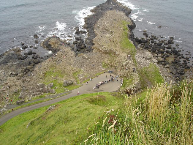 Giants Causeway overlook, Northern Ireland