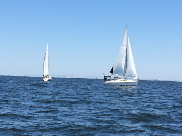 Sailing on the Chesapeake Bay is a popular Maryland activity
