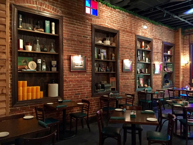 5 fun places to eat in Annapolis: Back room at Galway Bay