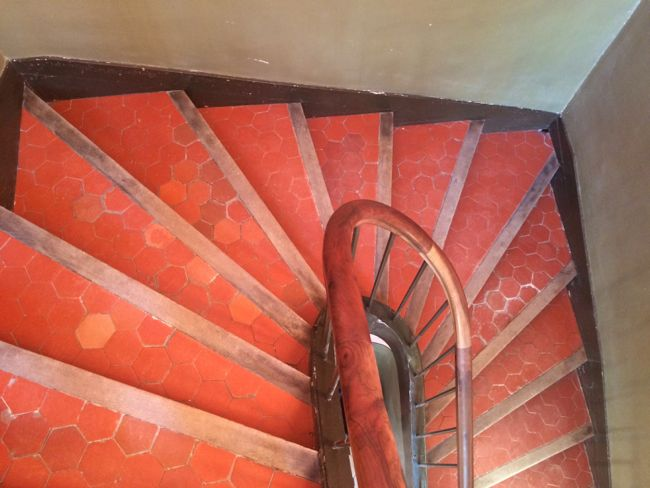 Stairs at Cezanne's Studio, Aix-en-Provence
