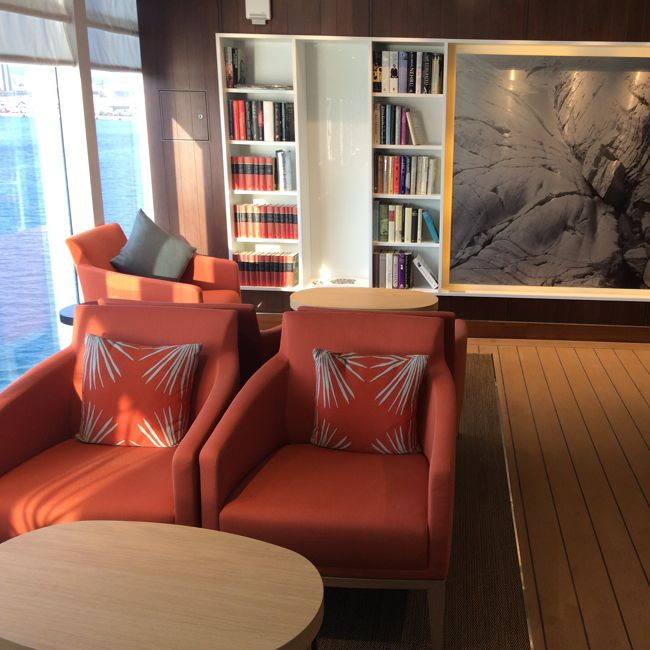 Viking Star Wintergarden library