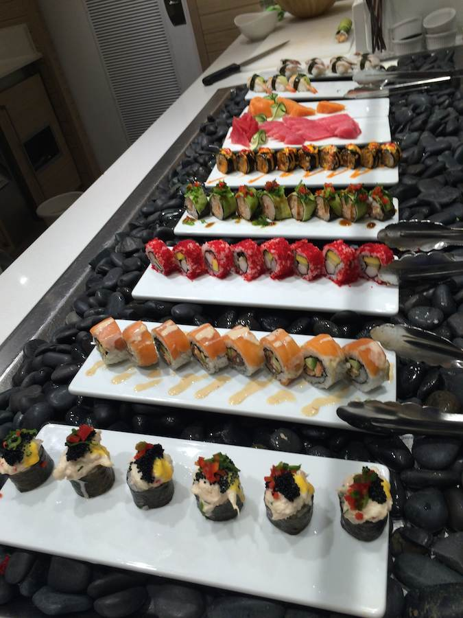 Viking Cruises : Viking Star : sushi at World Cafe