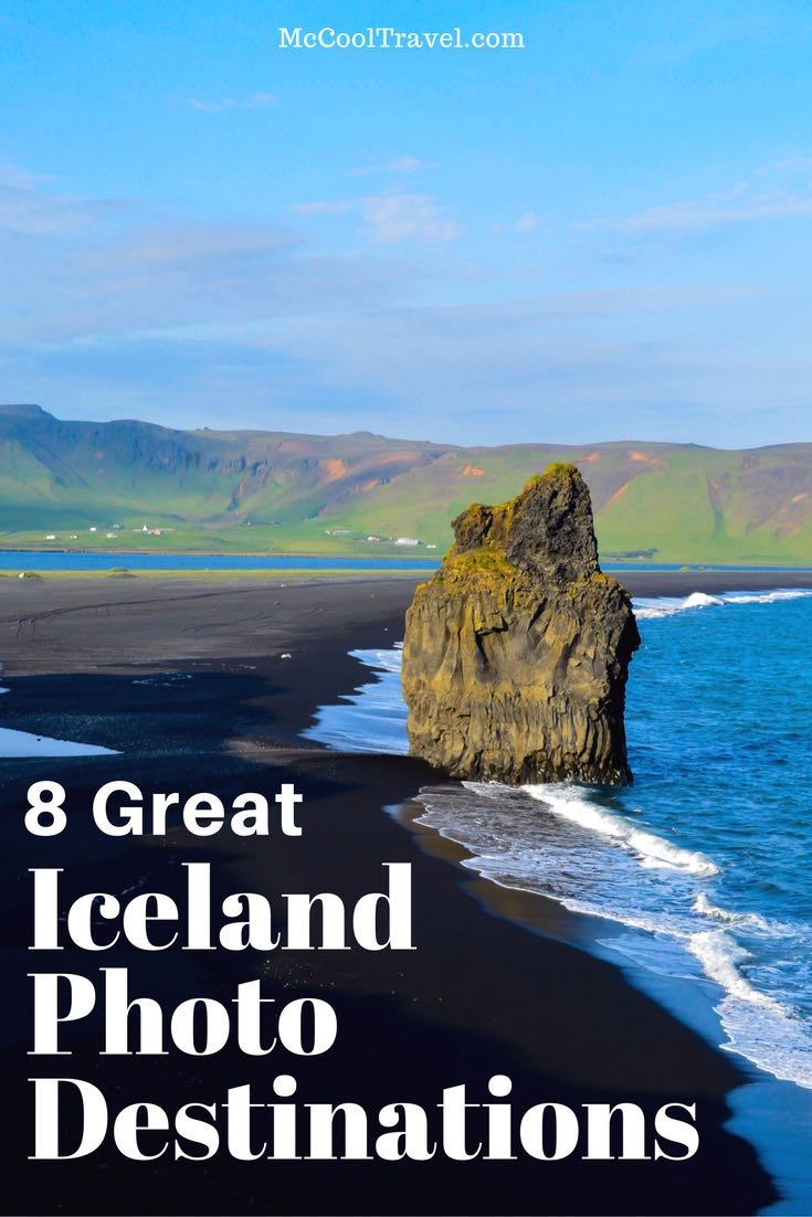 These 8 great Iceland photo destinations offer inspiring landscapes and incredible nature perfect for amateur photographers and sightseers.