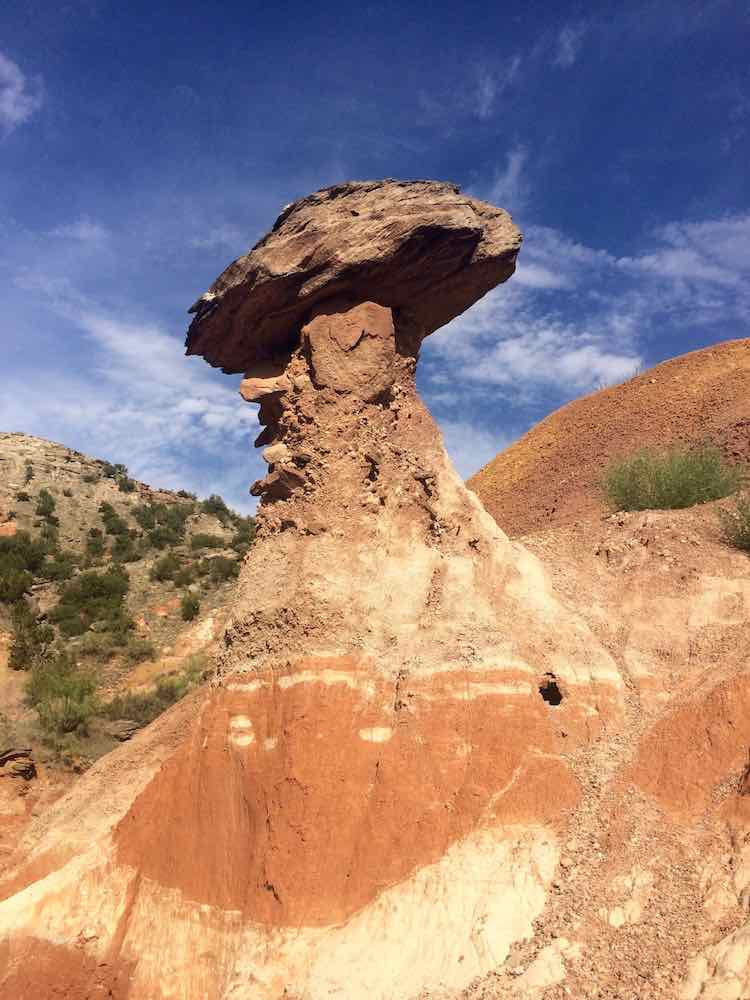 things to do in Amarillo: Palo Duro Canyon hike