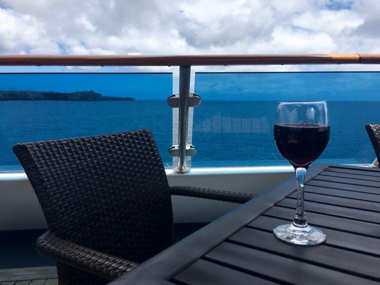 eat outside on Celebrity Cruises Galapagos