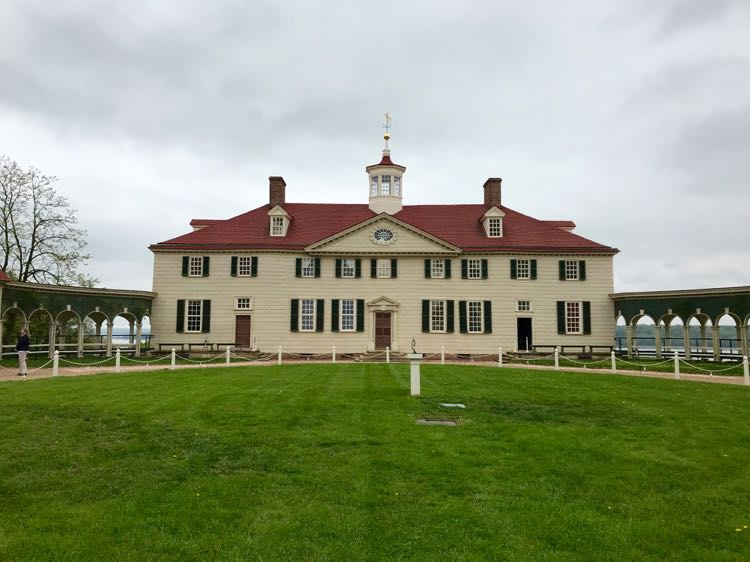 Mount Vernon Virginia home of George Washington, photo by Julie McCool FuninFairfaxVA