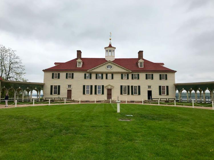 Mount Vernon Virginia home of George Washington, photo by Julie McCool FuninFairfaxVA