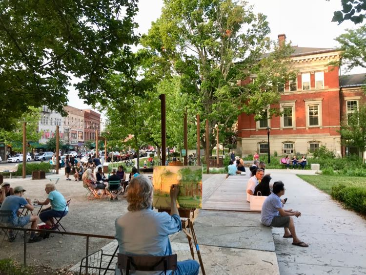 Arts Night Out in Northampton Massachusetts