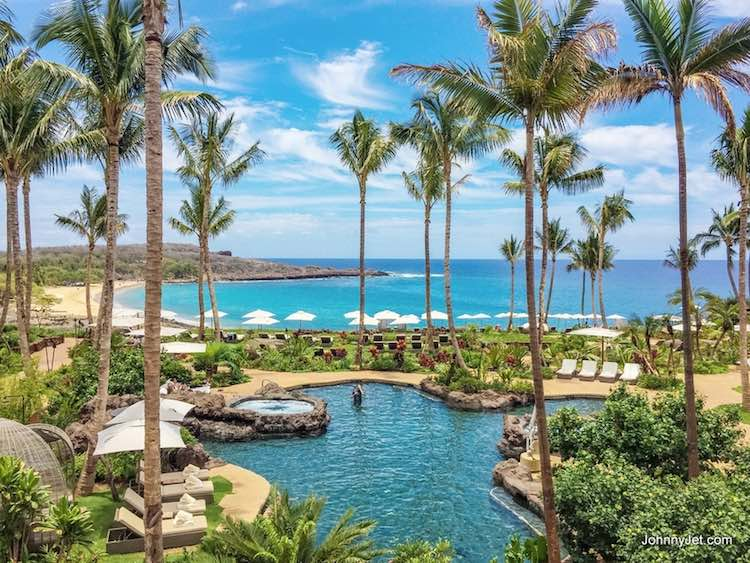 Lanai Four Seasons Manele Bay by Johnny Jet