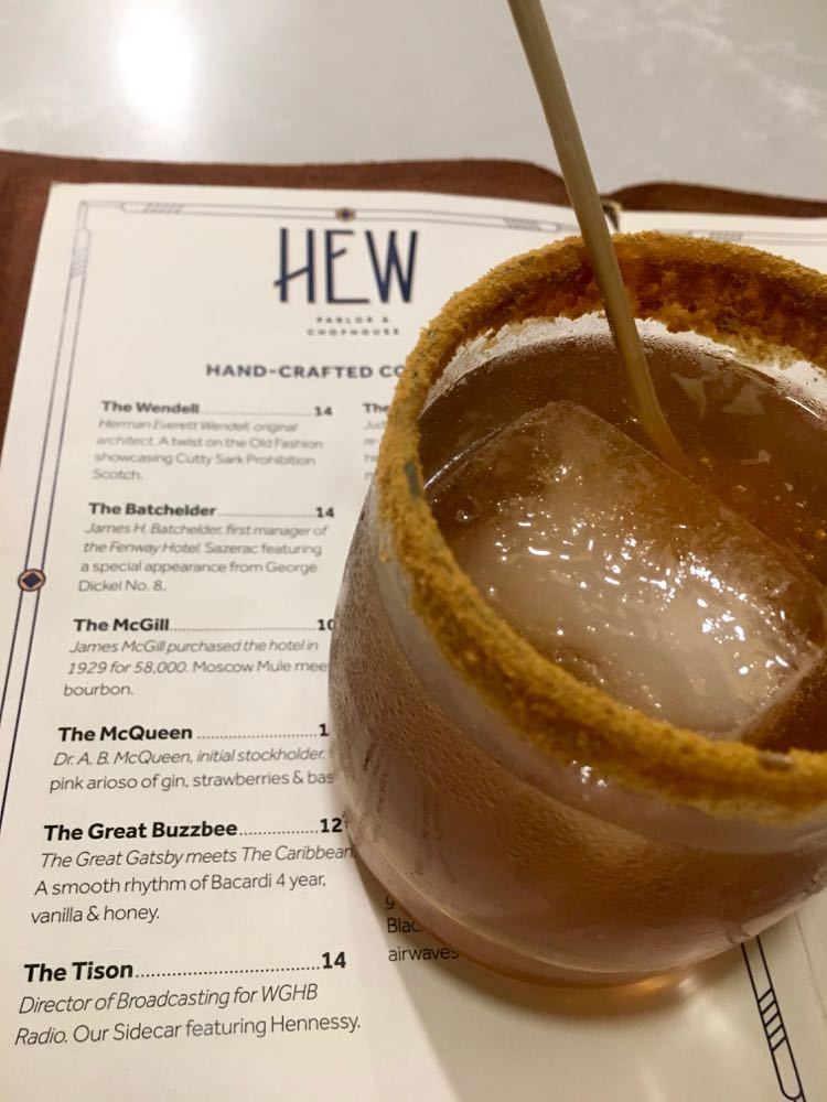 The Great Buzzbee, HEW, Fenway Hotel