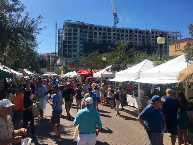 every Saturday morning is the amazing Sarasota Farmers market