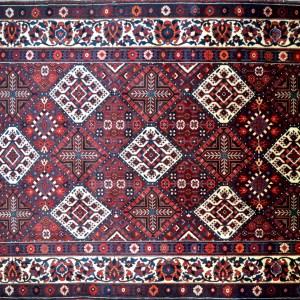 2075 7.2x10.8 Persian Baktiari Rugs