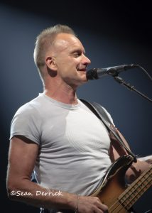 Sting performing at The Fox Theatre Photo copyright Sean Derrick/Thyrd Eye Photography
