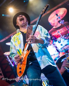 Carlos Santana at the Scottrade Center in 2014. Photo by Sean Derrick/Thyrd Eye Photography