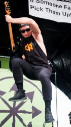 Attila performing Wednesday in Saint Louis for Vans Warped Tour. Photo by Ryan Ledesma.