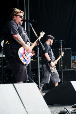 Bowling For Soup performing Wednesday in Saint Louis for Vans Warped Tour. Photo by Ryan Ledesma.