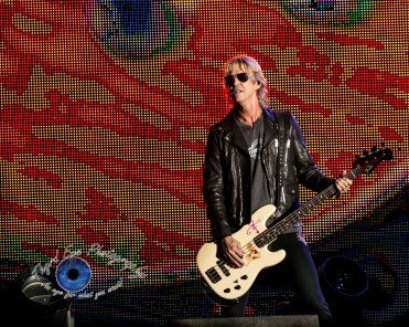 Duff McKagan of Guns N' Roses performing in Saint Louis Thursday. Photo by Sean Derrick/Thyrd Eye Photography