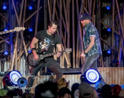 Cole Swindell performing at the Hollywood Casino Amphitheatre in Saint Louis Saturday. Photo by Sean Derrick/Thyrd Eye Photography