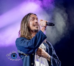 Incubus performing at the Hollywood Casino Amphitheatre in Saint Louis Tuesday. Photo by Sean Derrick/Thyrd Eye Photography.