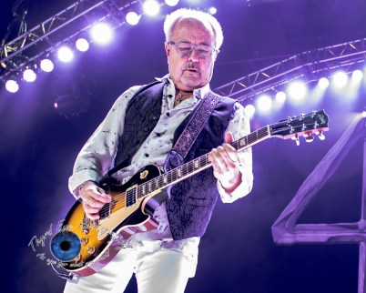 Mick Jones of Foreigner performing in Saint Louis. Pic by Sean Derrick/Thyrd Eye Photography
