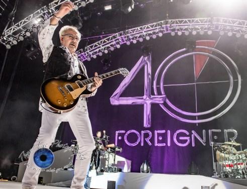 Mick Jones of Foreigner performing in Saint Louis. Pic by Sean Derrick/Thyrd Eye Photography