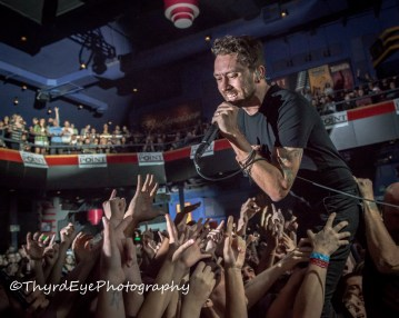 Rise Against photo by Sean Derrick/Thyrd Eye Photography